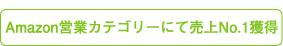 amazon営業カテゴリーにて売上No.1獲得
